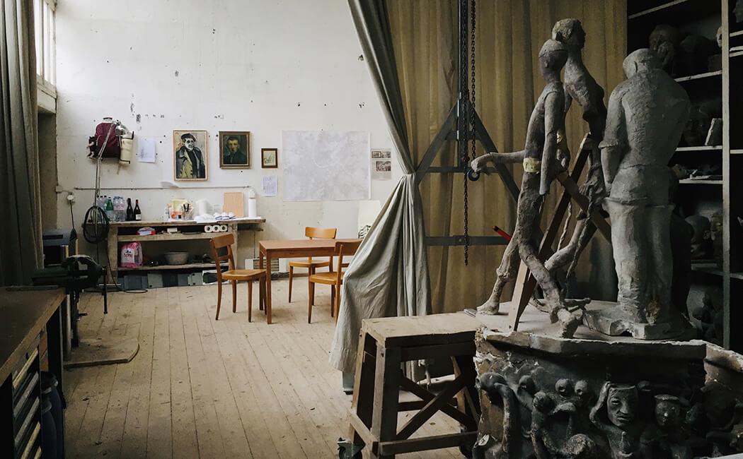 125 Jahre Alexander Zschokke Intervention Qunstwerk